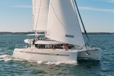 Beautiful Lagoon 46 ready for sailing in Puerto Rico