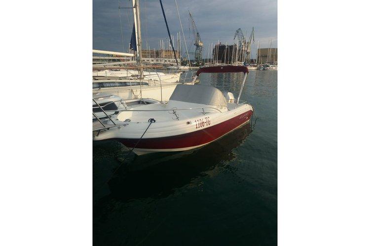 Boat for rent Atlantic Marine 21.0 feet in Trogir,