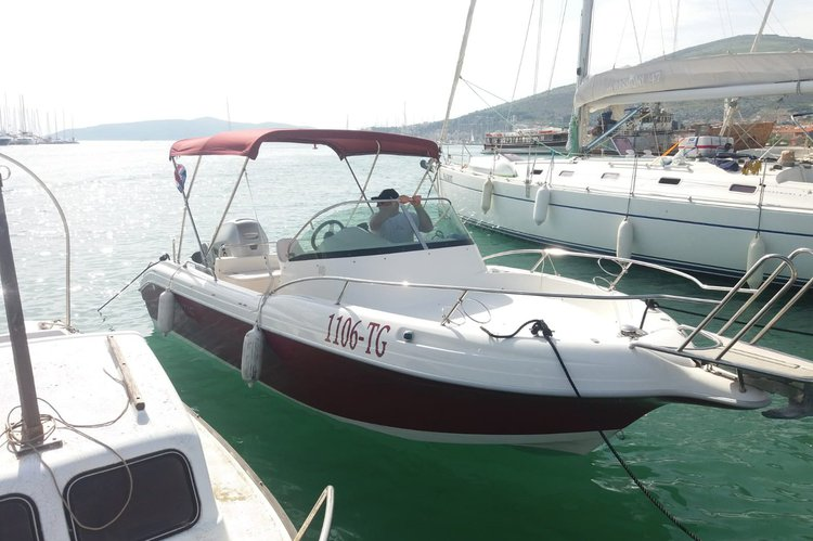 Atlantic Marine's 21.0 feet in Trogir