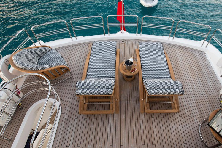 Azimut boat for rent in Barcelona