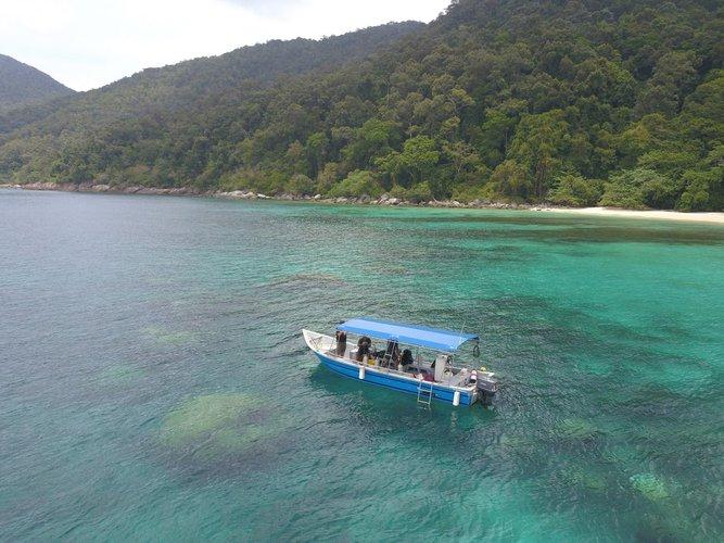 Discover Kuala Terengganu surroundings on this Custom Custom boat