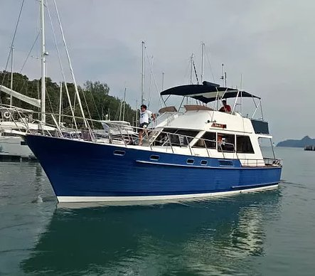 Charter this amazing motor boat in Langkawi