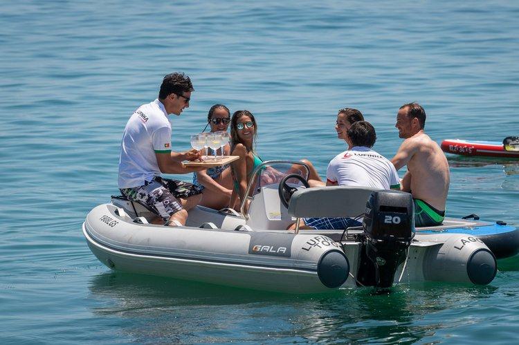Catamaran boat rental in Marina de lagos, Portugal