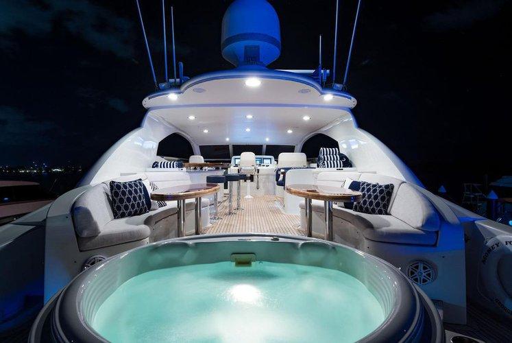 Boat for rent Lazzara 116.0 feet in Palm Beach Yacht Club & Marina, FL