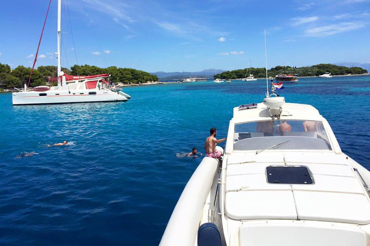 Boating is fun with a Motor yacht in Split