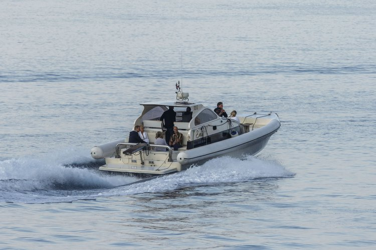 Discover Split surroundings on this Airone Lomac boat