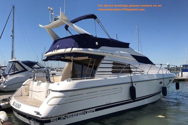 Sunseeker Manhattan 46 Flybridge - Luxury yacht