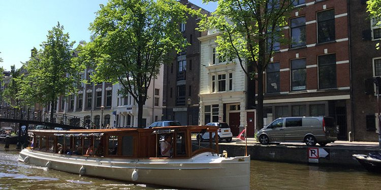 Discover Amsterdam surroundings on this Custom Custom boat