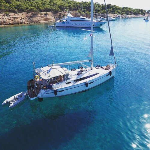 Boating is fun with a Bavaria in Alimos