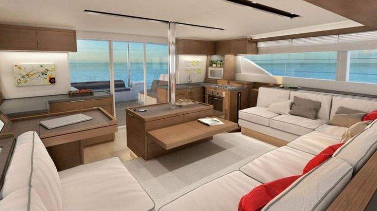 Catamaran boat for rent in Port Klang