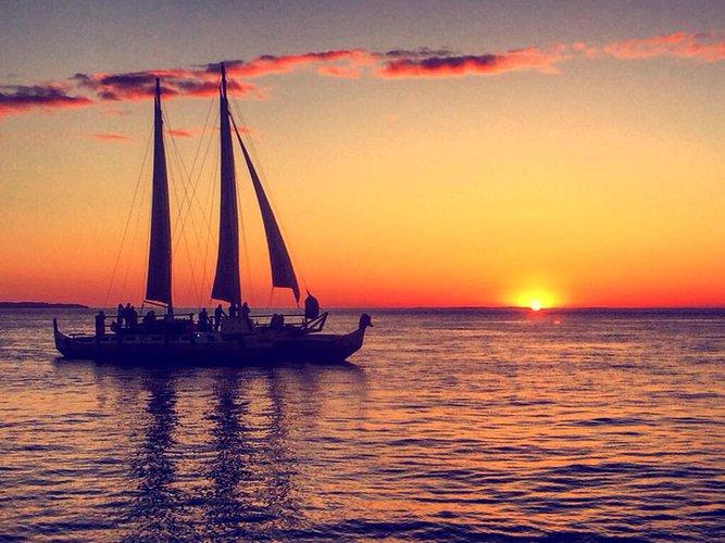 Explore Montauk aboard 63' elegant sailing catamaran