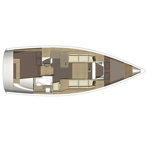 Boat for rent Dufour 34.0 feet in Port Pin Rolland, France