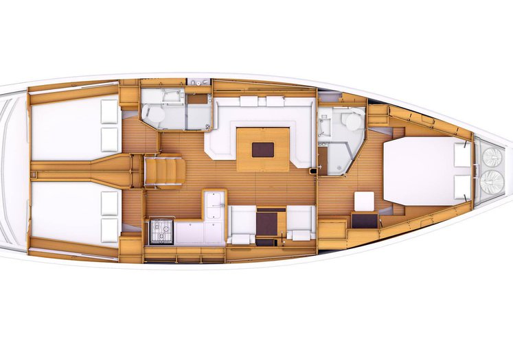 Discover Key West surroundings on this 479 Jeanneau boat
