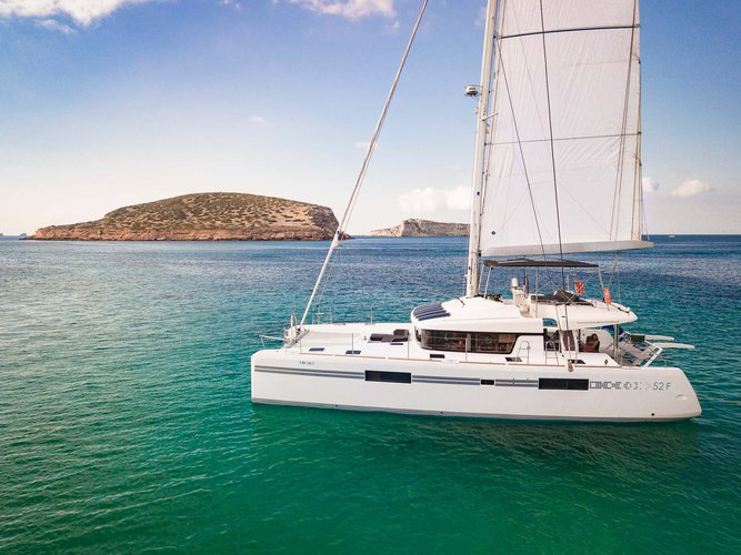 Boating is fun with a Lagoon in Balearic Islands