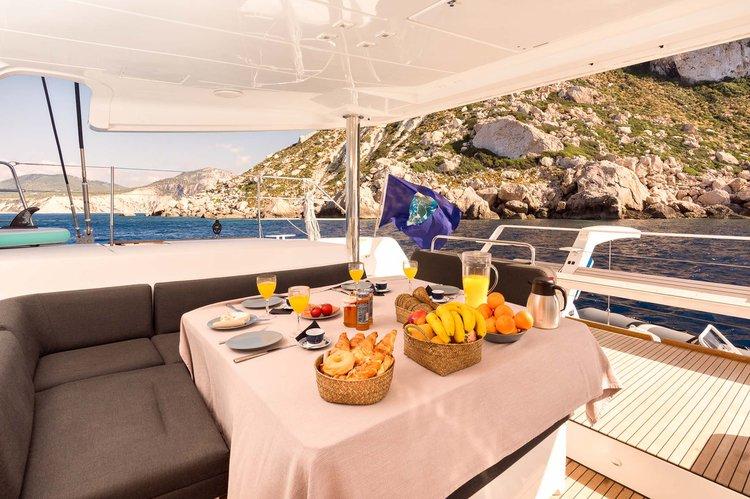 Catamaran boat rental in Balearic Islands, Spain