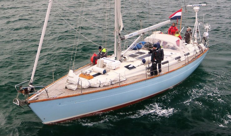 Experience Rotterdam on board this elegant sail boat