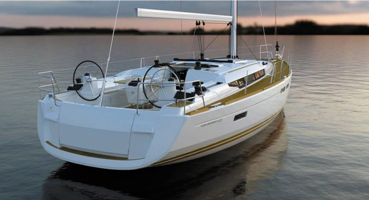 Set sail around the French Riviera on this Sun Odyssey 465