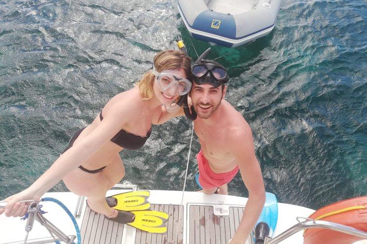 Boat for rent beneteau 42.0 feet in San Blas, Kuna Yala Archipelago, Panama