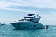 Charter 75' Pristine Sunseeker Motor Yacht In Miami Beach/Ft Lauderdale/FL Keys/