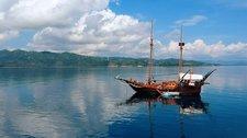 Experience Denpasar on board this elegant sloop