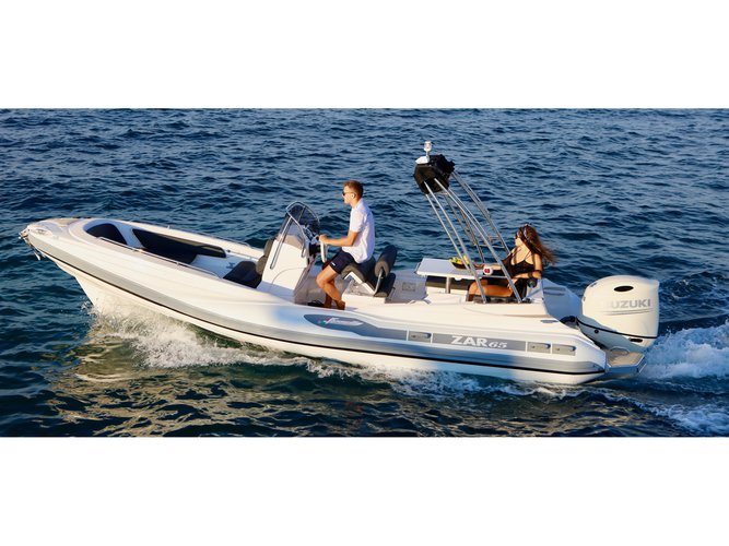 Enjoy luxury and comfort on this Tribunj motor boat charter