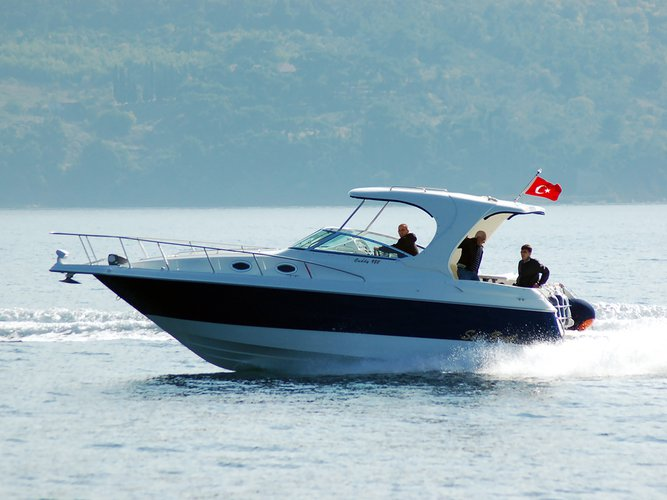 Experience Trogir on board this elegant motor boat