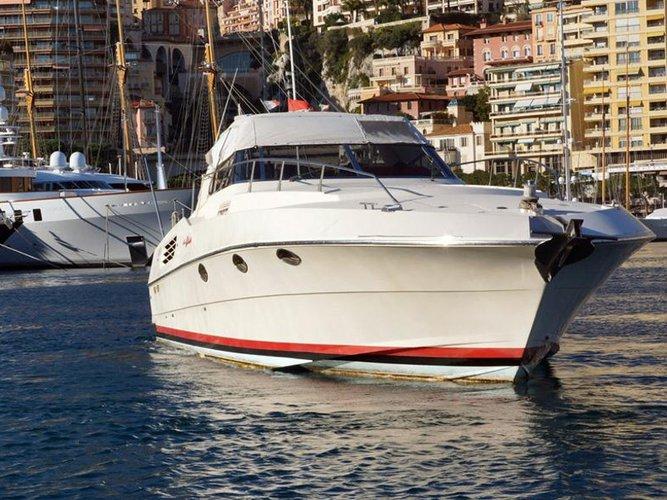 Jump aboard this beautiful  Riva 50
