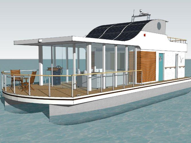 Charter this amazing  House Yacht Devin 1.5 in Sundhagen/Neuhof, DE