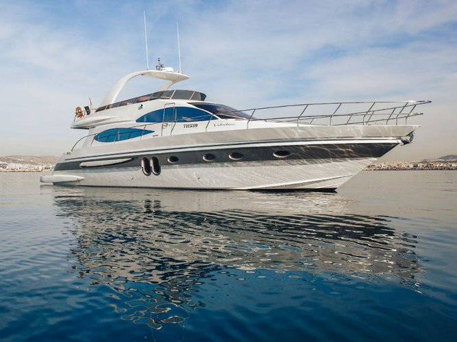Climb aboard this  PR Marine 62 for an unforgettable experience