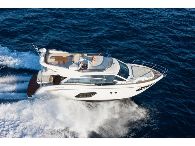 Sail the beautiful waters of Barcelona on this cozy Absolute Yachts Absolute 52 FLY