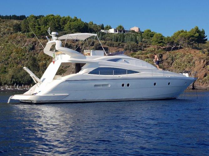 Experience Trogir, HR on board this amazing Aicon Aicon 54