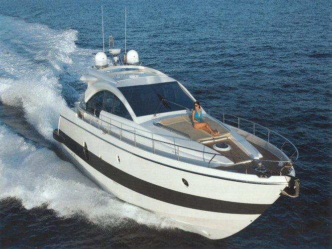 Rent this Aicon Aicon 62 SL for a true nautical adventure