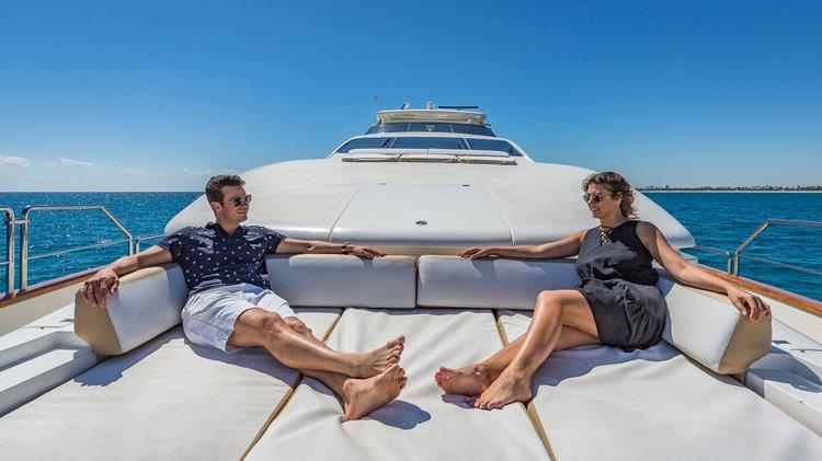 Motor yacht boat rental in Williams Island Marina, FL