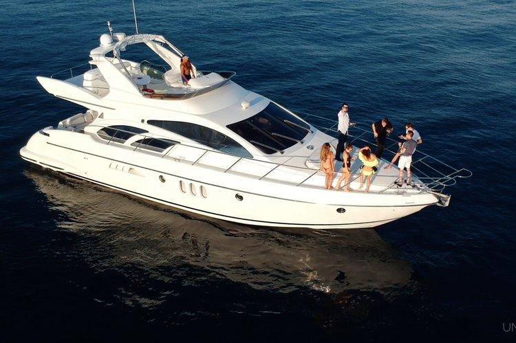 60'  Azimut Yacht / Flybridge