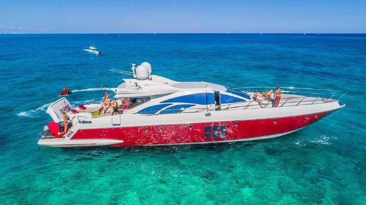 Yacht party Rental 86' AZIMUT!