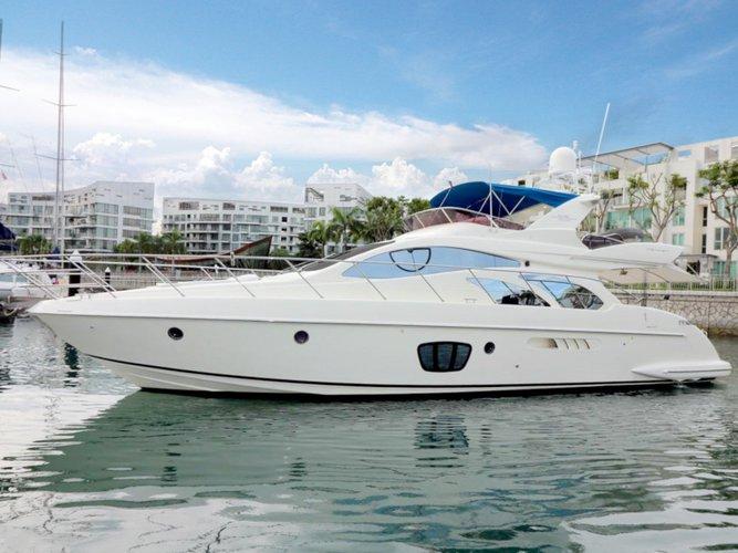 Cruise Phuket, TH waters on a beautiful Azimut Yachts Azimut 55 Evolution