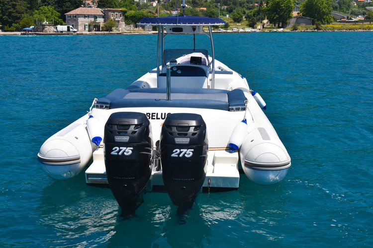 Rigid inflatable boat rental in Tivat,