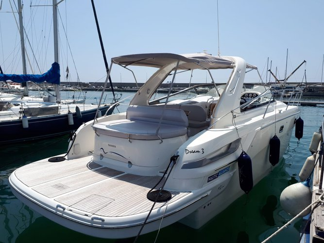 Hop aboard this amazing motor boat rental in Castellammare di Stabia!