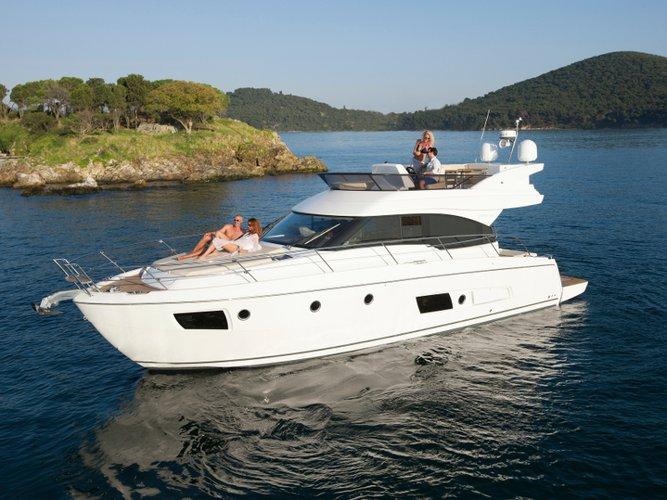 Cruise Pula, HR waters on a beautiful Bavaria Yachtbau Bavaria Virtess 420 Fly
