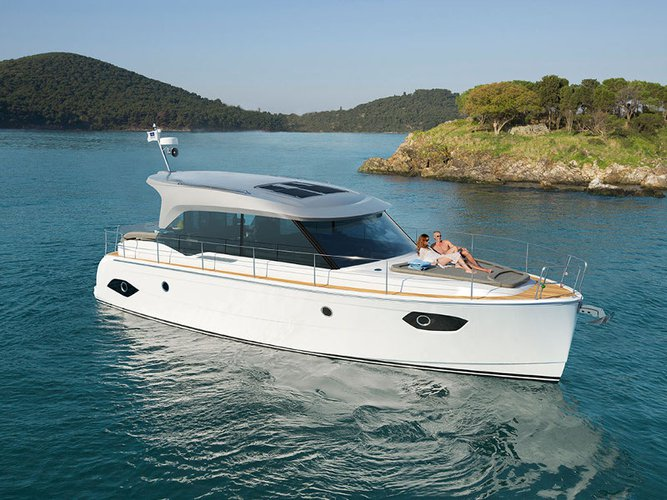 Climb aboard this Bavaria Yachtbau Bavaria E40 Sedan for an unforgettable experience