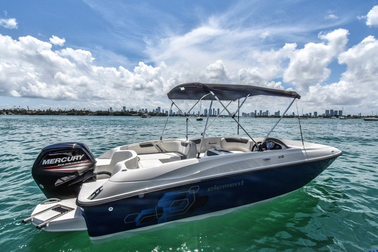 BRAND NEW Bayliner XL--BIGGER & FASTER--1-8PPL in Miami, Florida