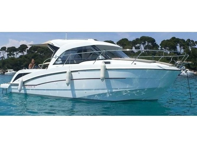 All you need to do is relax and have fun aboard the Beneteau Antares 8