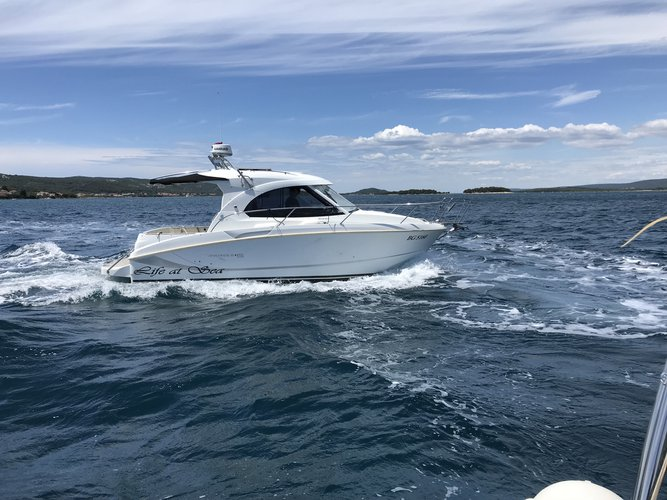 Cruise Biograd, HR waters on a beautiful Beneteau Antares 8