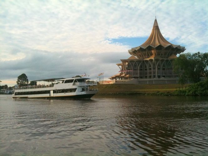 Boating is fun with a Mega yacht in Kuching