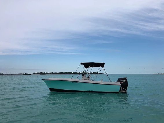 Experience Green Turtle Cay on board this elegant motor boat