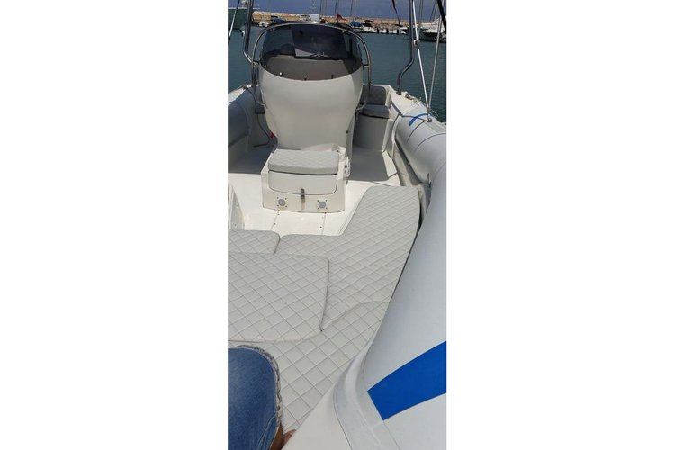 Boating is fun with a Rigid inflatable in Poli Crysochous