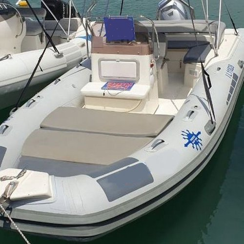 Rigid inflatable boat rental in Latchi Harbour, Cyprus