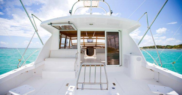 Motor yacht boat rental in Cap Malheureux, Mauritius