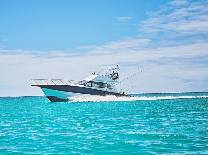 Experience fishing at its best on a this Sportfisherman boat charter