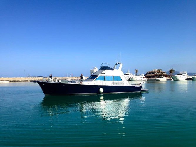 Charter this motor boat for a true boating adventure